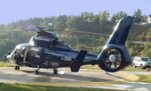 Il Ciocco visita in elicottero summer camp VIVA International