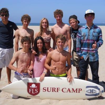 surf summer camp Viva international