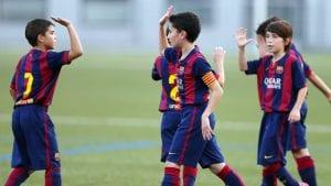 scuolacalcio summer footbal camp 2018 barcellona Viva Interrnational vacanze studio