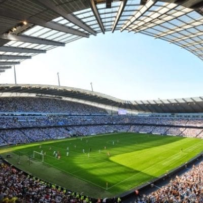 summer camp calcio manchester city etihad stadium viva international
