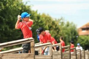 summer camp golf nike inghilterra