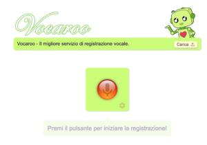 Vocaroo app pronuncia inglese