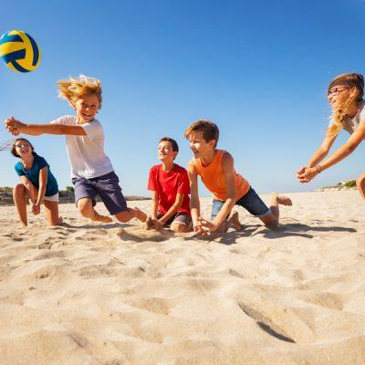 beach volley camp